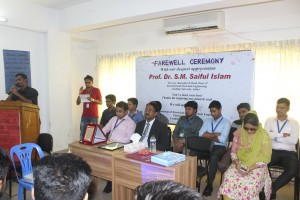 EEE faculty recalling his memory with Pro VC sir