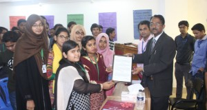 Students of EEE honored Pro-VC sir