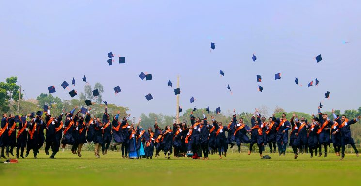 CSE 32nd Batch at the 3rd Convocation  Photo by: Shahin Noor