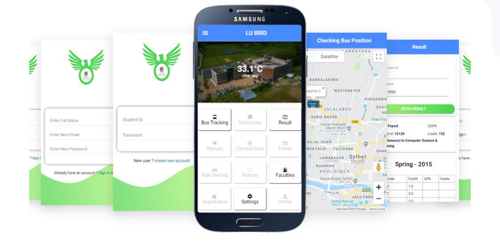 LU bus tracking Mobile Application – Leading University